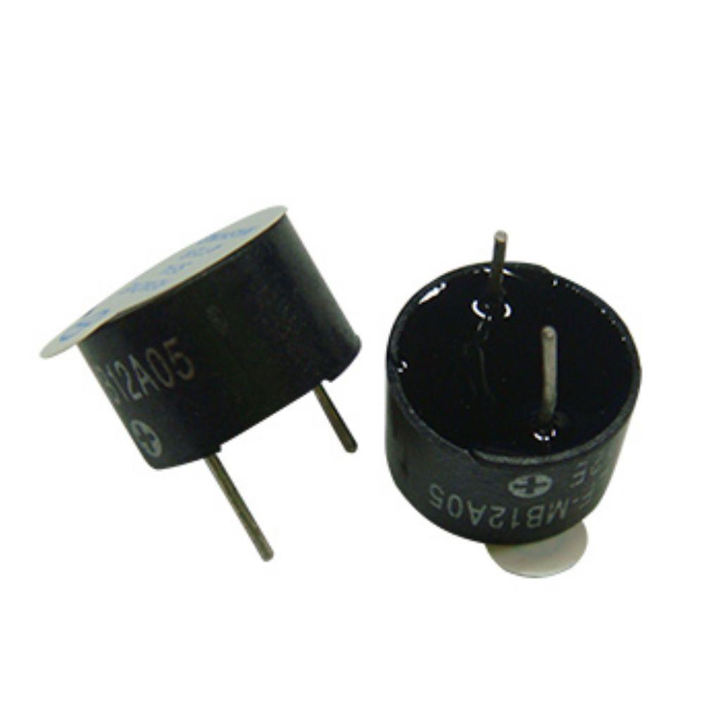 蜂鸣器 12Φ5v 自激 / lf-mb12a05 p=7.6mm h=7.5mm